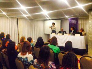 Dra Cristina Lopes fala primeiro painel sistema politico