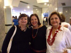 Fátima Jordão, Tânia Ribeiro e Solange Jurema