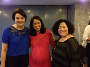 Nancy, Aline e Rita
