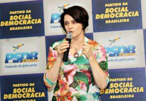 Presidente do PSDB-Mulher São Paulo, Nancy Thame chega à Executiva Nacional do PSDB - Foto: PSDBMulher-SP