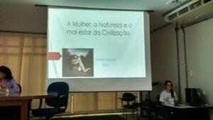 Foto: Palestra de Loreley Garcia na UNB