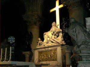Pietá de Michelângelo - fotografia de Tânia Ribeiro