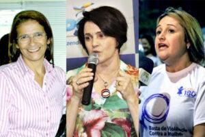 Nazaré Trindade de Melo, Nancy Ferruzzi Thame e Adriana Vilela Toledo