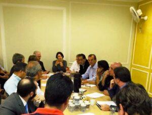 A presidente do PSDB Mulher SP, Nancy Ferruzzi Thame defendeu a aplicação da cota para mulheres na composição dos diretórios e conquistou a maioria dos votos na Executiva Estadual
