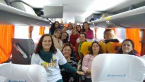 Tucanas gaúchas desafiam o frio e a distância, rumo a Brasília