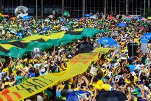 Brasília no 16 de Agosto em foto de George Gianni/PSDB