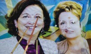 Cartaz Kátia e Dilma