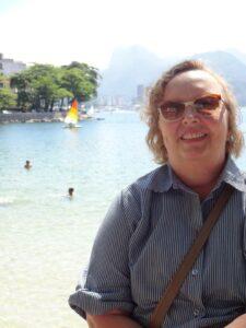 Dra. Maria Cristina Sant'Anna - Arquivo pessoal