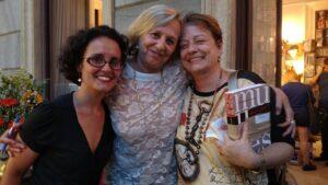 Com a representante da Fundação Ford no Brasil, Nilcéia Freire