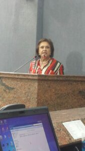 Solange na Câmara Municipal