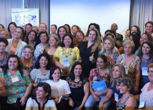 Meta do evento era reunir alguns dos princiais nomes da sigla no País, e capacitar as futuras candidatas ao pleito FOTO: PSDB Mulher Nacional