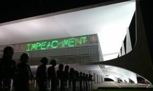 Planalto impeachment e tropas