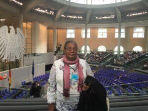 Judite no Parlamento Europeu