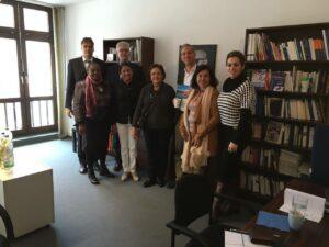 Visita à sede da Konrad em Freiburg 1