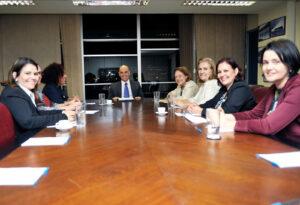 Reunião suprapartidária com ministro Alexandre de Moraes pede pela manutenção do status da SNPM/ Foto: Allan de Carvalho