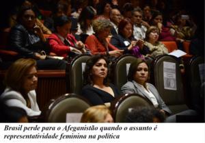 Parlamento Afegão - Brasil perde para o Afeganistão quando o assunto é representatividade feminina na política