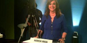 Márcia Maia no debate da TVU