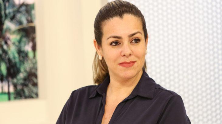 27/03/2020 – Prefeita Cinthia Ribeiro participa de entrevista sobre a pandemia do Coronavirus, Covid 19, na rede de comunicação Jaime Camara. Palmas – TO Foto: Edu Fortes