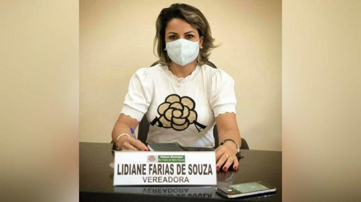 Vereadora Lidiane Farias de Souza (PSDB) do município de Rio Verde de Mato Grosso