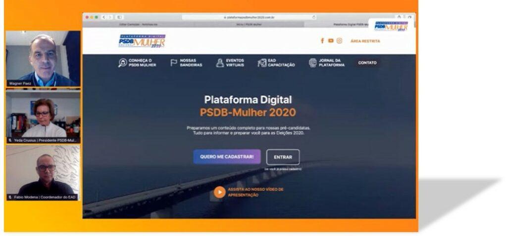 PSDB-MULHER INOVA E PROMOVE UMA REVOLUÇÃO DIGITAL ENTRE AS TUCANAS