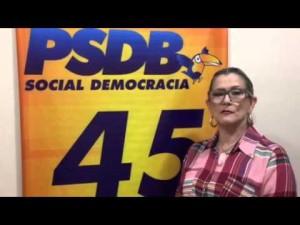 Presidente do ITV/RN, Isabel Marinho vem à Convenção do PSDB e pede oposição a favor do Brasil